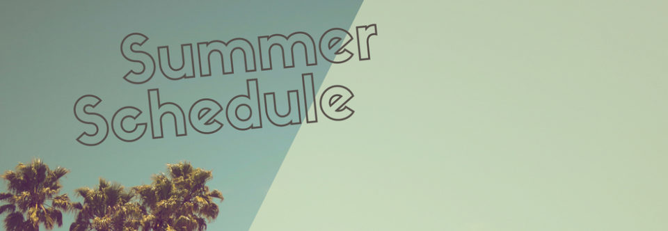 Service Schedule 2018