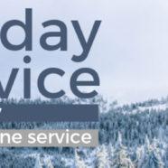 CHURCH SERVICETHIS SATURDAY